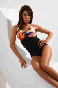W's one-piece bikini DARIA 1-2